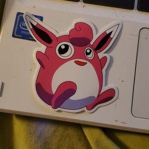 Wigglytuff sticker